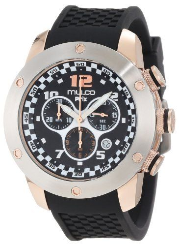 Mulco Unisex MW2-6313-025 Fashion Analog Swiss Movement with Silicone Band Watch MULCO. $295.00. Case diameter: 46 mm. Water-resistant to 100 M (330 feet). Durable mineral crystal protects watch from scratches,. Swiss movement ronda 5030d. Stainless steel case