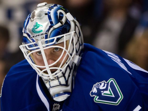 getting a look at goalie Jacob Markstrom, key piece in Roberto Luongo trade