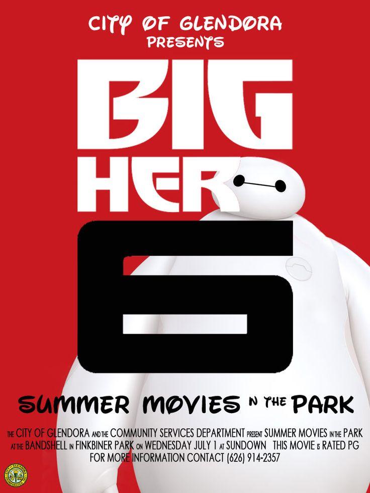 2015 Summer Movie in the Park | Big Hero 6