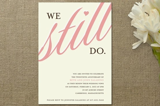 50th Wedding Vow Renewal Invitations: Vow Renewal/anniversary Party