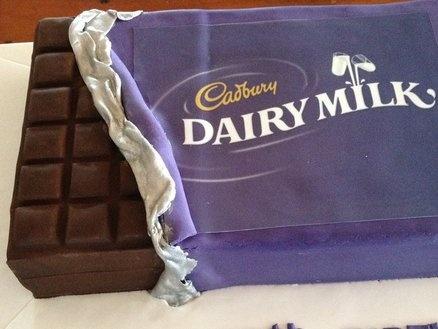 Cadbury Chocolate Cake Cake by Dell Khalil