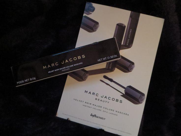 Marc Jacobs #velvetnoir mascara sent complimentary from @Influenster for testing purposes  @MarcBeauty #velvetnoir #contest #voxbox
