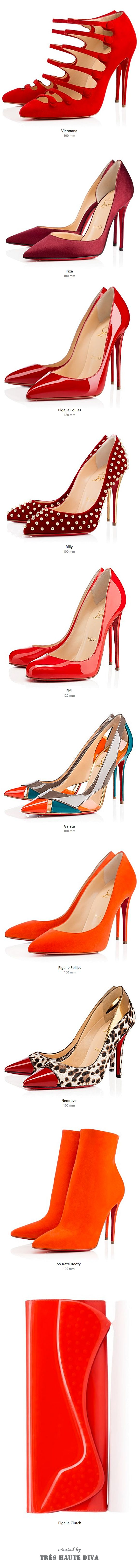 Christian Louboutin Red & Orange, FW'14 ♔THD♔