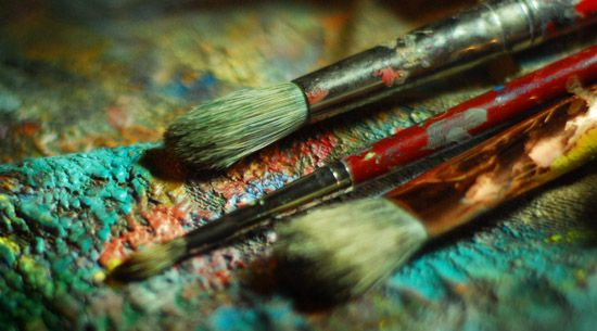What paint brush should you use for acrylic painting for Types of acrylic paint