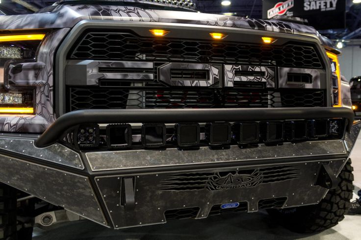2017 Ford Raptor was not even at dealers yet when this truck was shown at SEMA with ADD