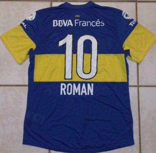 f76d514c5d1 NIKE Argentina Boca Juniors Juan Roman Riquelme Soccer Jersey ...
