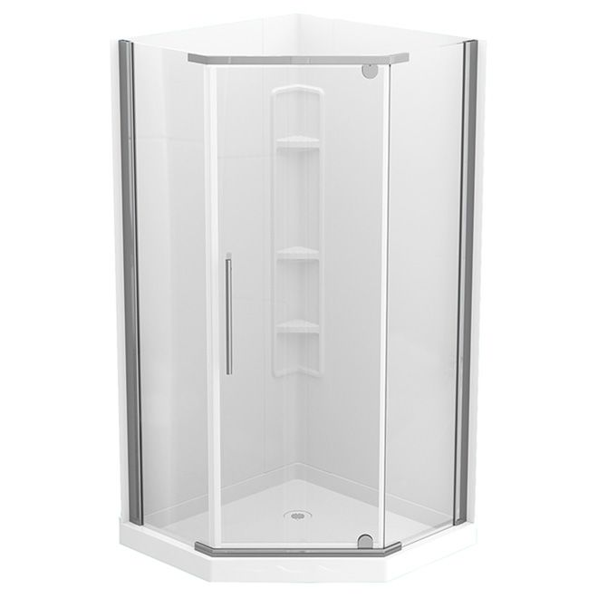 Technoform Tarifa Neo Angle Shower 38 X 38 White Tar38ncc