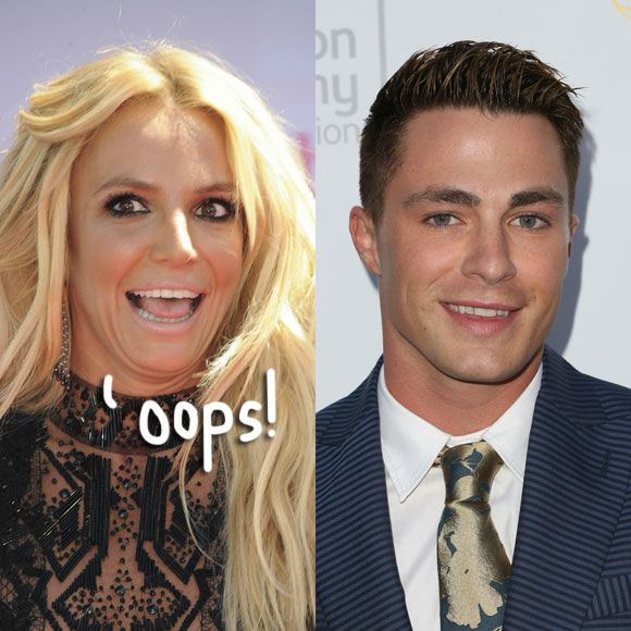 Britney Spears Literally Had No Idea Who Colton Haynes Was — While He Was Dancing On Stage With Her!