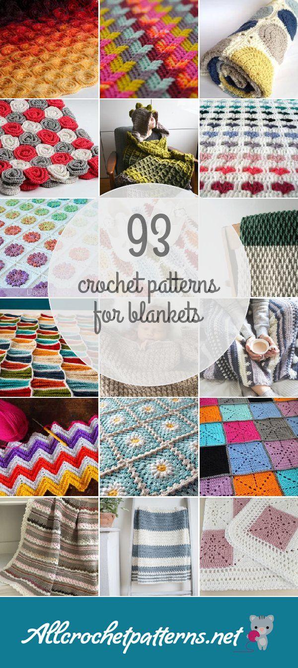 Crochet Patterns For Blankets   Crochet   Pinterest   Croché ...