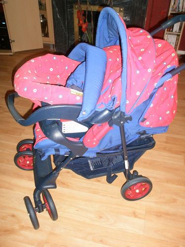 MOTHERCARE PRAM TRAVEL SYSTEM PUSHCHAIR AND CARSEAT |