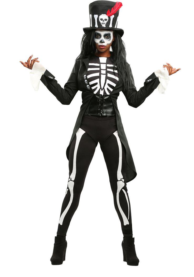 Voodoo Skeleton Costume for Women
