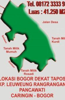 Info Property, Jual Rumah, Jual Tanah, Hotel, SPBU, Rumah Sakit dan Toko online Terpercaya: Jual Tanah Jalan LBC Dekat Tapos Bogor