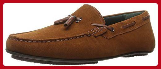 Ted Baker Men's Muddi 3 Slip-on Loafer, Tan Suede, 8 M US - Mens world (*Amazon Partner-Link)