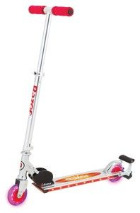 Razor Scooters: Razor Spark 2.0 Kick Scooter The best selling scooter in the world just got even hotter. Motion activated LED running lights under deck. Light up urethane wheels with rear fender brake.  http://awsomegadgetsandtoysforgirlsandboys.com/razor-scooters/ Razor Scooters: Razor Spark 2.0 Kick Scooter