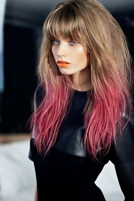 two hair color styles 1000 ideas about two toned hair on ombre 2989 | 141a5cf64ec9a4f16f11513d1ac02381