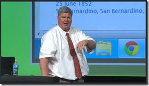 Ron Tanner talks at RootsTech 2013