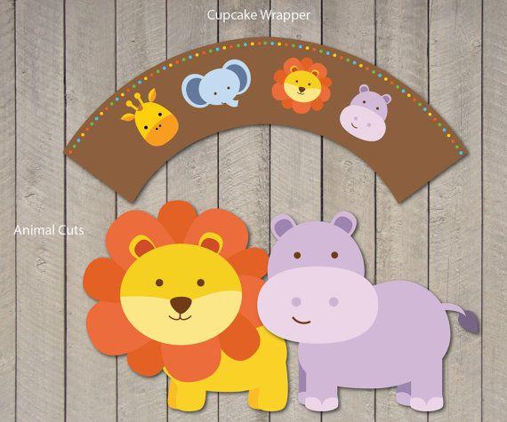Safari Baby Shower Package / Safari Baby Shower Pack by DreamyDuck