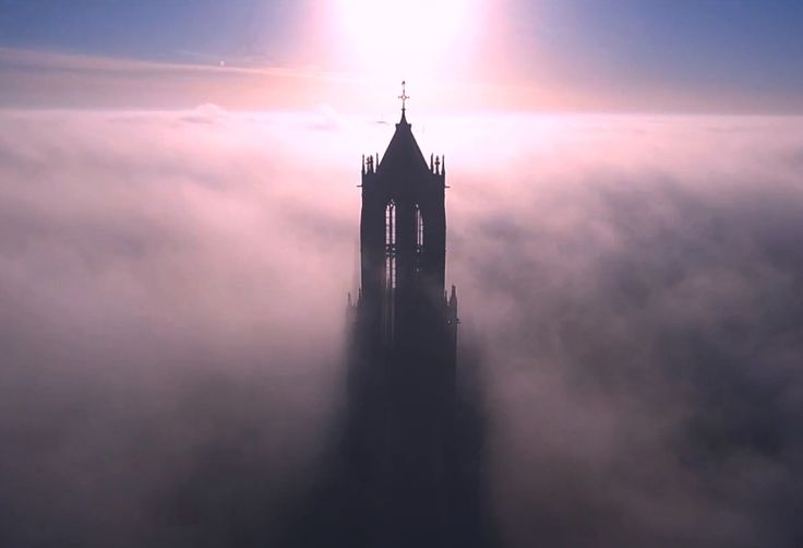 Domtoren Utrecht filmed by a drone. Click on the picture to watch the Youtube video.