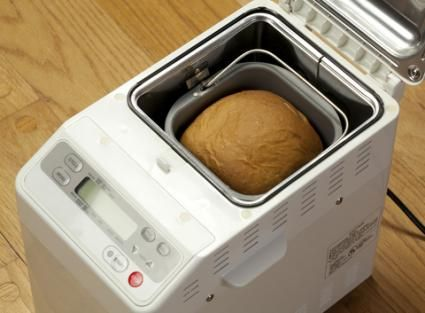 Machine-baked rice bread