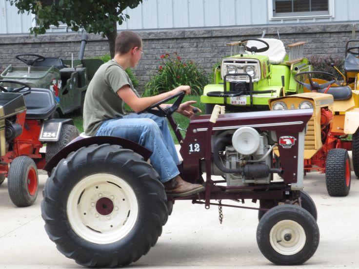 Big Tires On Garden Tractor : Best garden pulling tractors images on pinterest