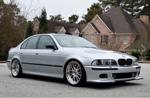 BMW E39 M5 2003 Titanium silver, highly customized - an ...