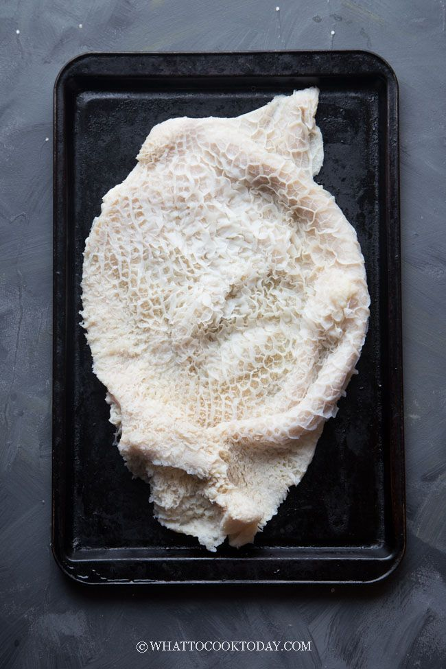 How To Clean Beef Honeycomb Tripe Step By Step Learn How To Easily And Effectively Clean Beef Honeycomb Tripe With Tripe Recipes Honeycomb Tripe Beef Tripe