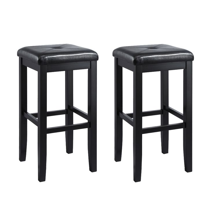 Shop Crosley Furniture  CF50052 Upholstered Square Seat Bar Stool (Set of 2) at Lowe's Canada. Find our selection of bar stools at the lowest price guaranteed with price match + 10% off.