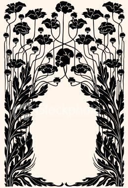 I want to learn to work in the Art Nouveau Style... there just seems to be a flow that has to be tapped into