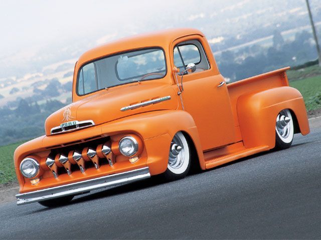 ford truck. That is one slick truck but I would put it back to stock height