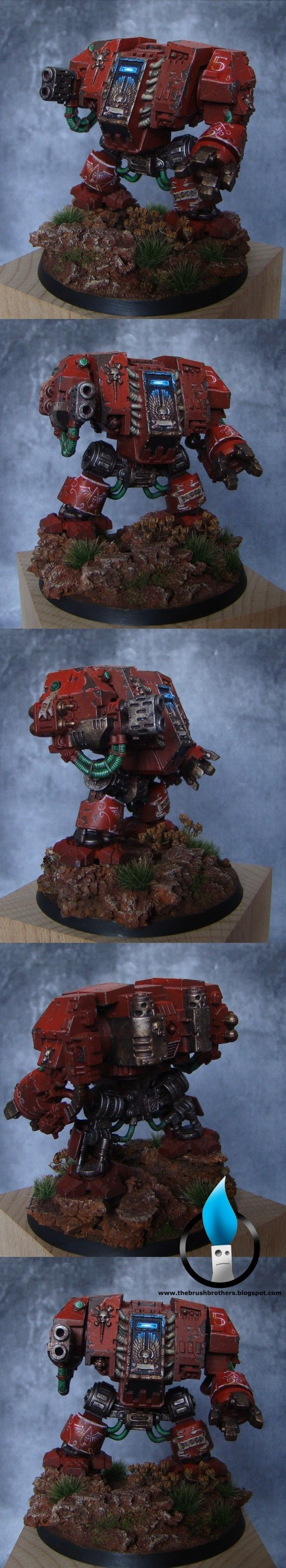 space marines blood angels Dreadnought