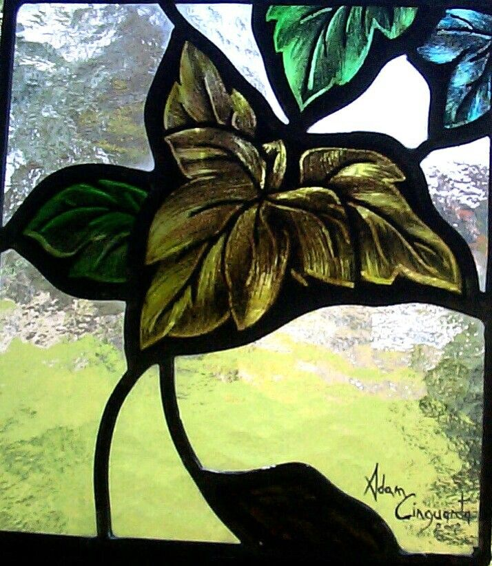 21 best Stained Glass art tribute big artis by ADAM CINQUANTA ...