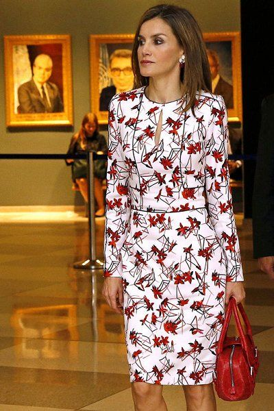 Queen Letizia and King Felipe attend UN General Assembly