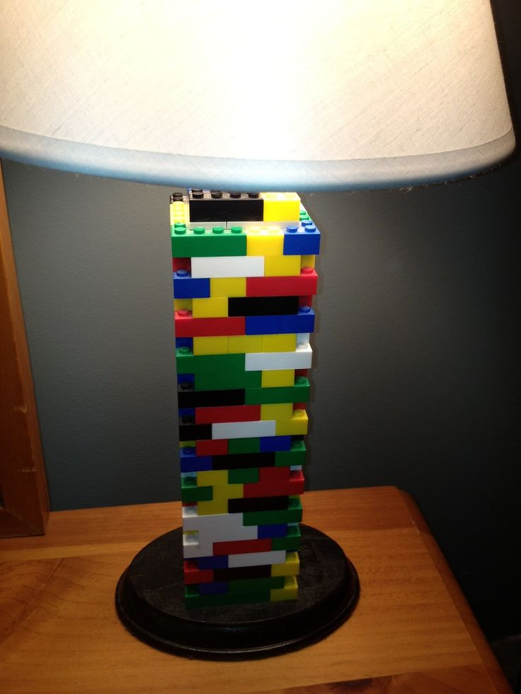 Lego Lamp Multicolor by LegoLamps on Etsy