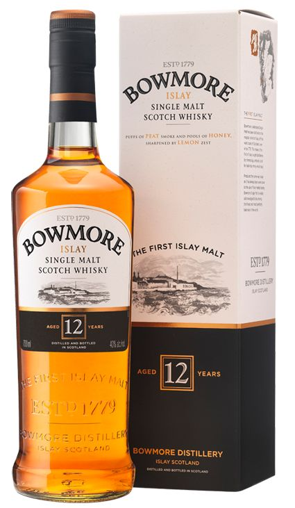 Bowmore 12 Years Old | Bowmore Islay Single Malt Whisky available from Whisky Please.