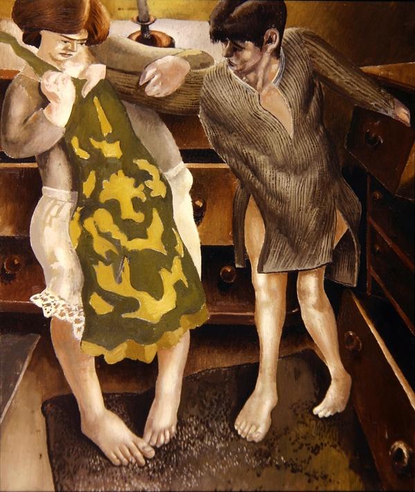 "Stanley Spencer (1891-1959) ""Choosing a Petticoat"", 1936."