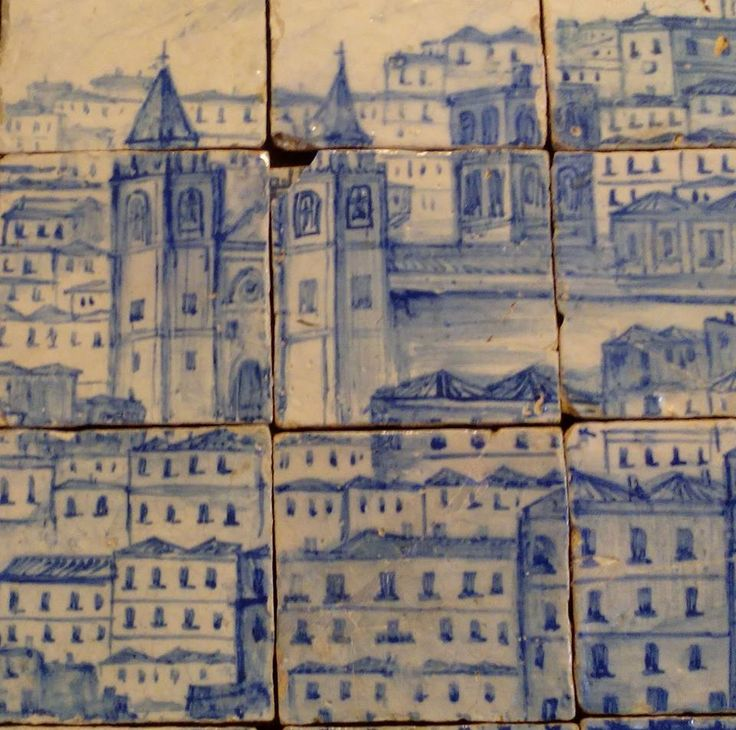 30 best portugal lisboa antes do terramoto de 1755 for Azulejos conde