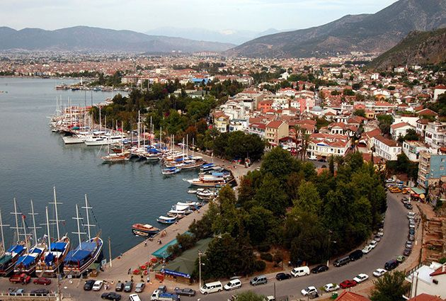 8.Day, Fethiye, private motor yacht rental in Turkey, www.barbarosyachting.com
