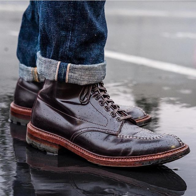 4313a3b1109 epaulet Absolutely killer pic of last year's Alden Tanker Boots from ...