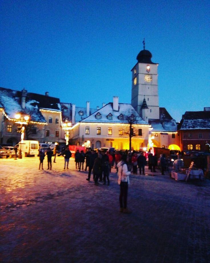 #Sibiu #beautifulcity #christmasspirit 🎄😍❤