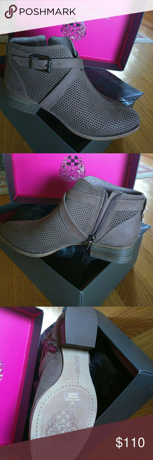 Vince Camuto   Ankle Booties Gorgeous color and  Perfect for Springs  Comes with box Vince Camuto Shoes Ankle Boots & Booties