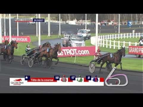 Prix d'Amérique 2013 - Royal Dream (Jean-Philippe Dubois) - Ready Cash    http://www.resultat-pmu.fr/Actualites-pmu/prix-d-amerique-2013-resultat-pmu-dimanche-27-janvier-2013-27.php