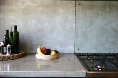 Concrete bench and Splashback From www.concreative.com.au