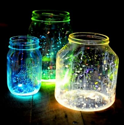 Make fairies in a Jar
