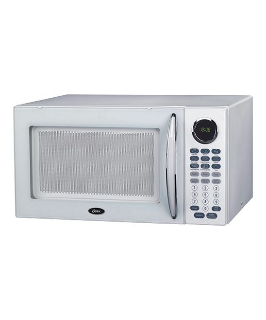 White Oster Microwave Oven
