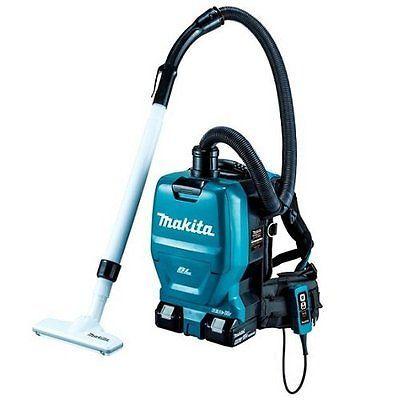 Makita rechargeable backpack cleaner body only / battery charger sold separately