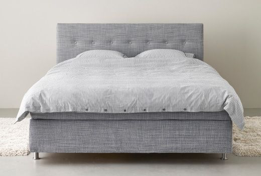 ikea double bed mattress base upholstered - Google Search
