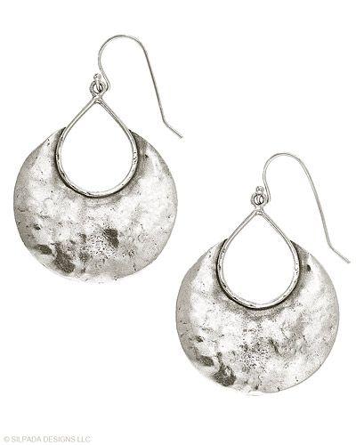 so me :): Bays Earrings, Sterling Silver Earrings, Silpada Design, Half Moon Bays, Silpada Earrings, Favorite Earrings, Silpada Jewelry, Silver Crescents, Jewelry Boxes