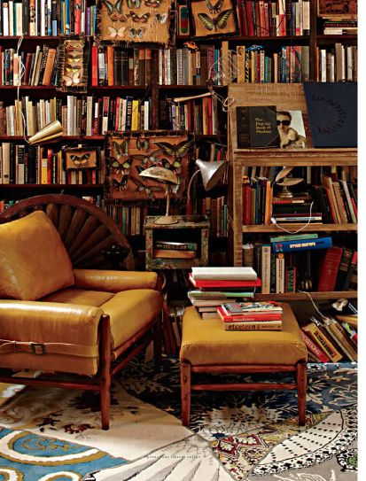 My room in heaven...Decor, Dreams Libraries, Bookshelves, Home Libraries, Reading Chairs, Places, House, Reading Room, Leather Chairs