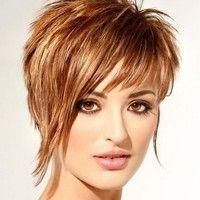 short asymmetrical hairstyle