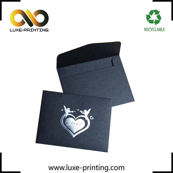 Check out this product on Alibaba.com APP Luxury black color A4 size business envelope with custom printing